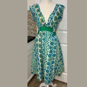 Marc Jacobs V Neck Sleeveless Sun Dress
